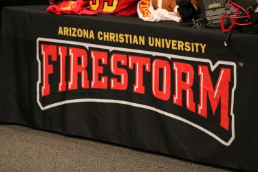 Arizona Christian football media day.