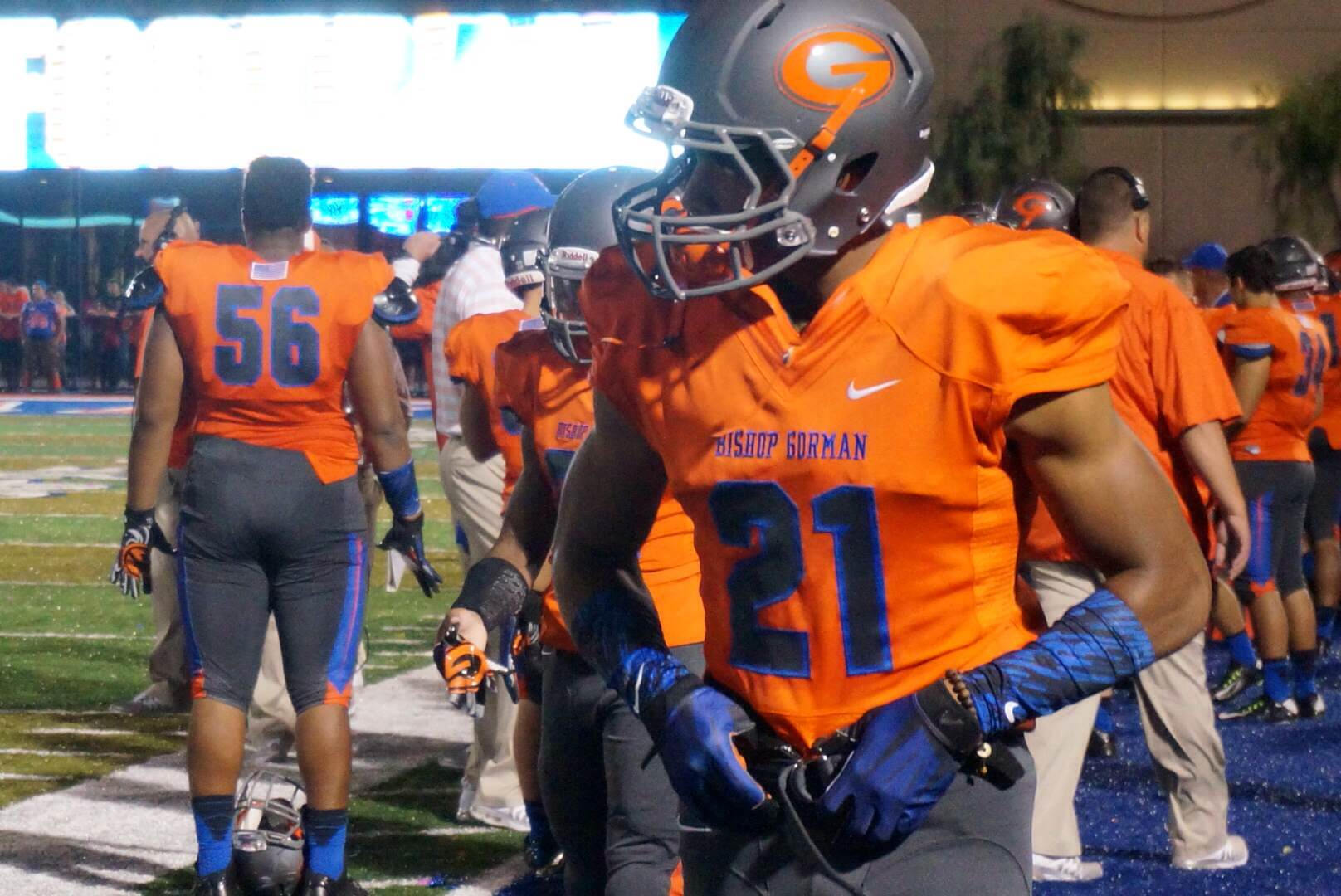 The gallery for --> Bishop Gorman Football Uniforms