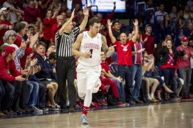 Gabe York Arizona Wildcats Basketball