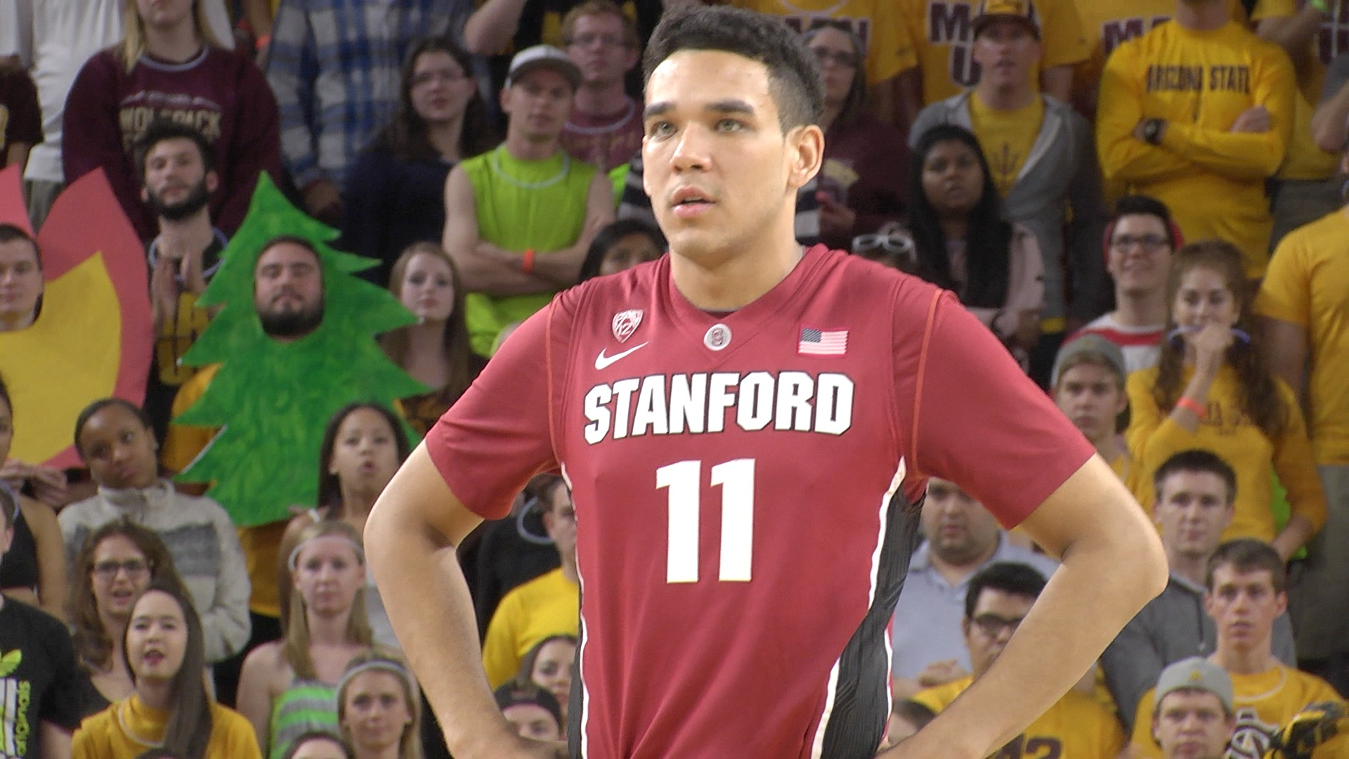 Dorian Pickens Stanford Pinnacle Basketball