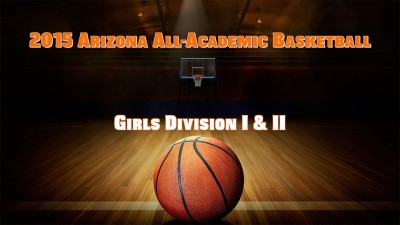 All-Acdemic Hoops Girls D1-2 2015