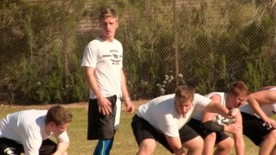 Austin Nuessle Desert Mountain Football