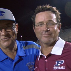 The Jones Bowl-Mesquite v Perry football