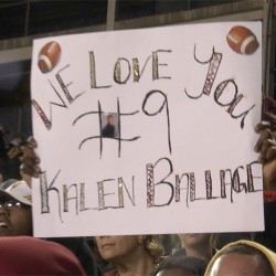 Kalen Ballage Scores TD in home town