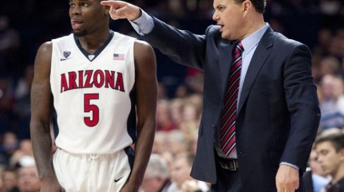 Kadeem Allen Sean Miller Arizona Basketball