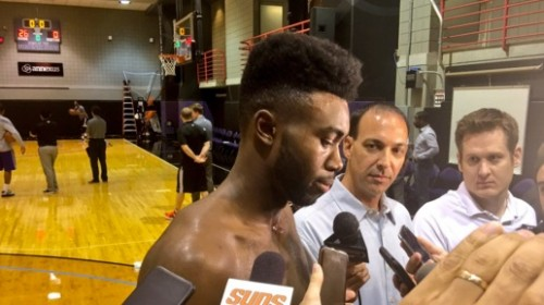 Jaylen Brown Suns Draft Workout