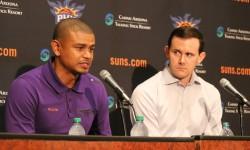 Ryan McDonough and Earl Watson Suns Draft 2016