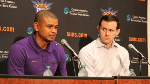 Ryan McDonough and Earl Watson Suns Draft 2016