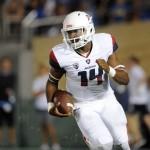 Tate, Wildcats Drop 58 on Wazzu, Upset #15 Cougars