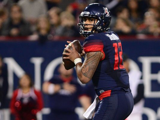 Arizona Wildcats QB Anu Solomon announces plans to transfer
