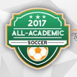 2016-17 All-Academic Girl's Soccer Team (1A-3A)