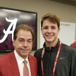 Saturday Night at Nick Saban's House For Brock Purdy