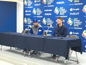 Ike Davis (left) and Ryan Lavarnway (right)