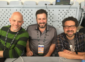 Jonathan Mayo (left), Jeremy Newberger (center), Seth Kramer (right)