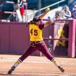 No. 13 ASU softball sweeps No. 16 Cal