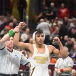 Valencia Becomes ASU's 11th National Wrestling Champ
