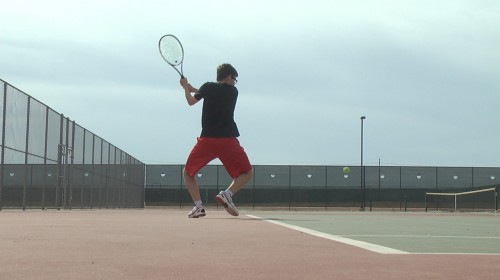 Combs Tennis Action 1